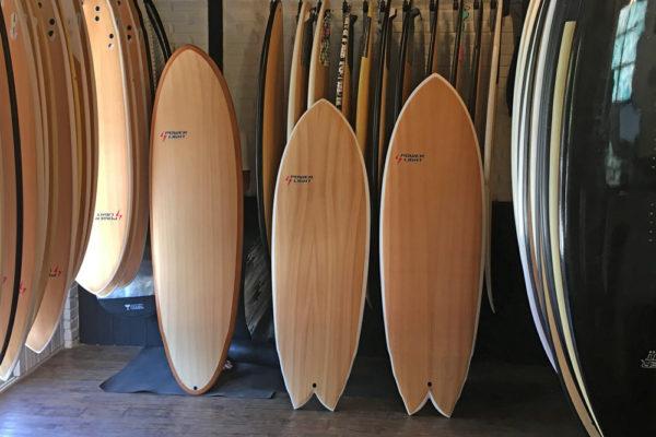 A prancha certa para cada nível de surf
